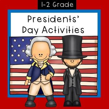 Presidents' Day Activities will help you in teaching your students about President's Day. There are pages that will help give you facts about two famous presidents. Also, your students will report on a president of their choice! You will find mini readers on George Washington and Abe Lincoln.