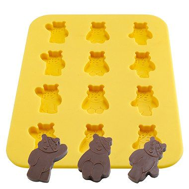 Pudsey Chocolate Mould - From Lakeland. My friend made these, tasty :p