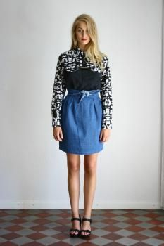R/H SS13 Collection - Cookie Shirt in Mosaik