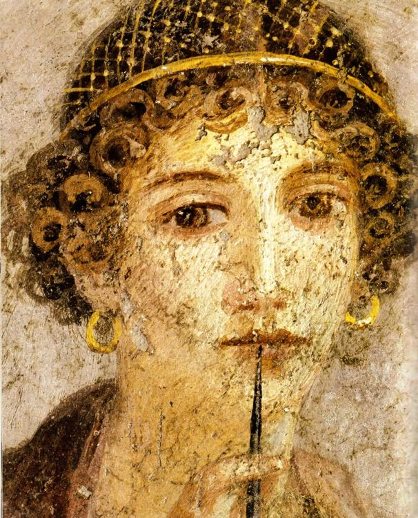615 best everyday life in ancient rome images on pinterest roman woman with wax tablets and stylus so called sappho publicscrutiny Choice Image