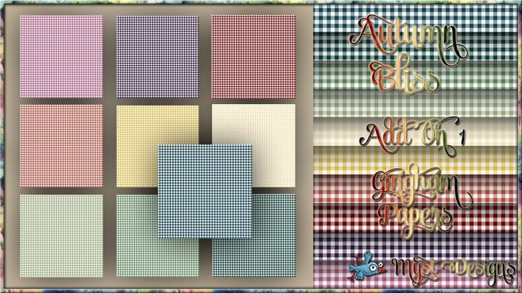 Autumn Bliss - AO1 - Gingham Papers
