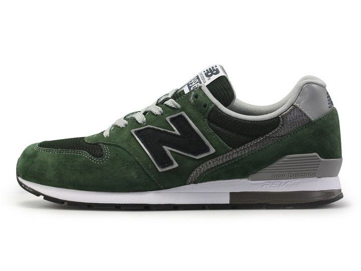 size 40 ae6d2 0ceea High Quality 2015 New Balance 996 Army Green Black Grey Mens Sneakers