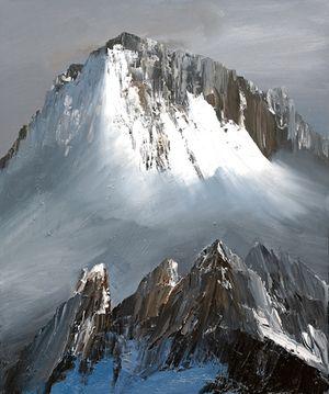Mountains (03-06) — hilarydymond.com | Peintures de montagne, Paysage montagne, Peinture paysage
