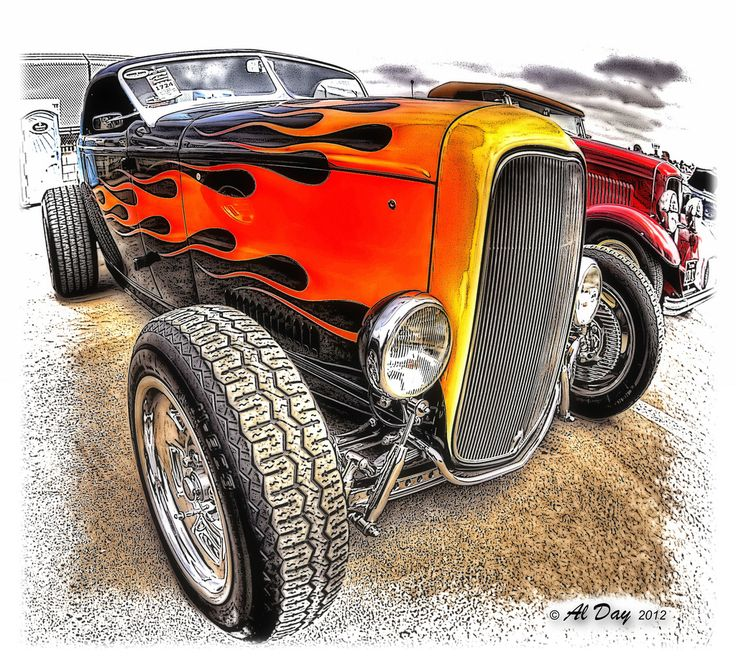 Hot Rods in HDR
