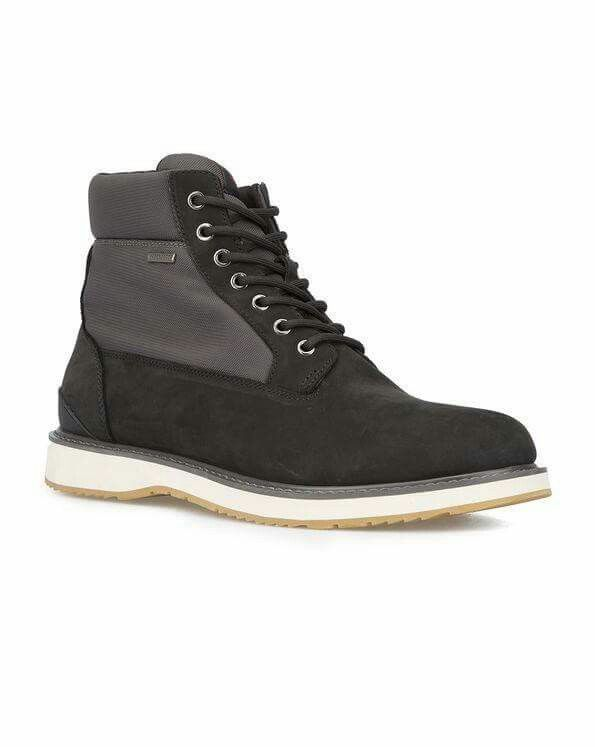 SWIMS Grey and Black Waterproof High-Top Barry #Boots