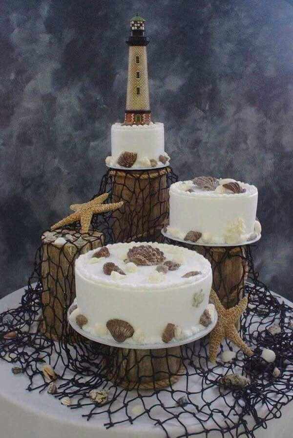 The 25 Best Lighthouse Cake Ideas On Pinterest Nautical