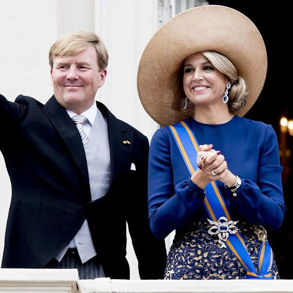 Queen Maxima and King Willem - Alexander at the Prinsjesdag 2016