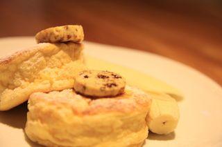 自家製リコッタチーズのパンケーキ HiDE