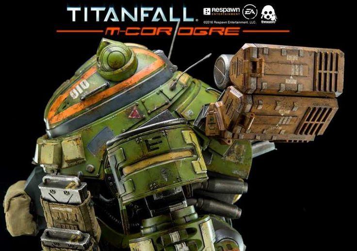 "New to pre-order! THREEZERO: TITANFALL M-COR OGRE 20"" COLLECTIBLE ACTION FIGURE"