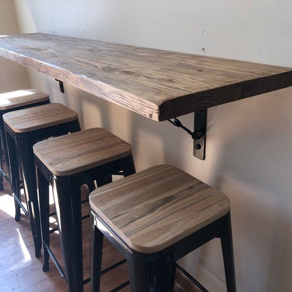 wall hanging dining table buffetschool desk breakfast nook