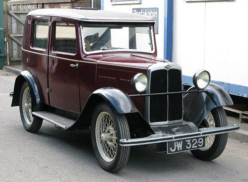 A.J.S. 'Nine'  4-door saloon