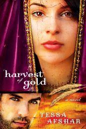 """HARVEST OF GOLD by TESSA AFSHAR.Beskikbaar by Faith4U Boek- en Geskenkwinkel, Secunda, email """"faith4u@kruik.co.za."""