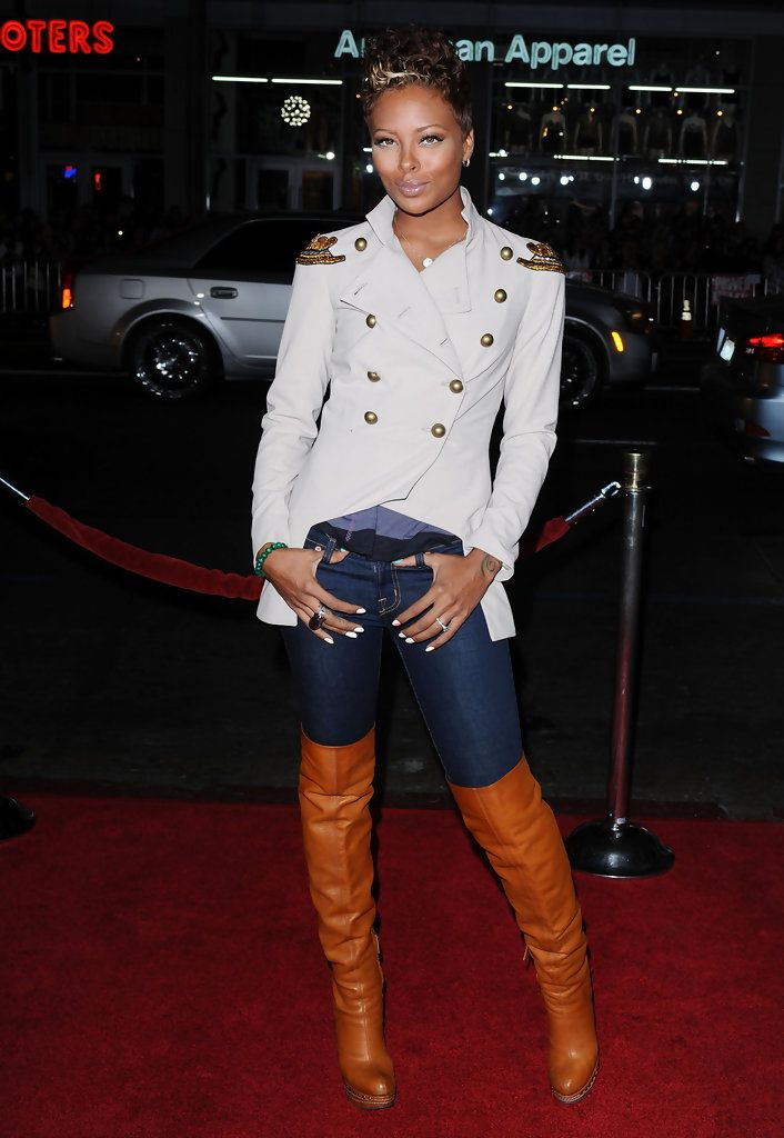 Eva Pigford Over the Knee Boots
