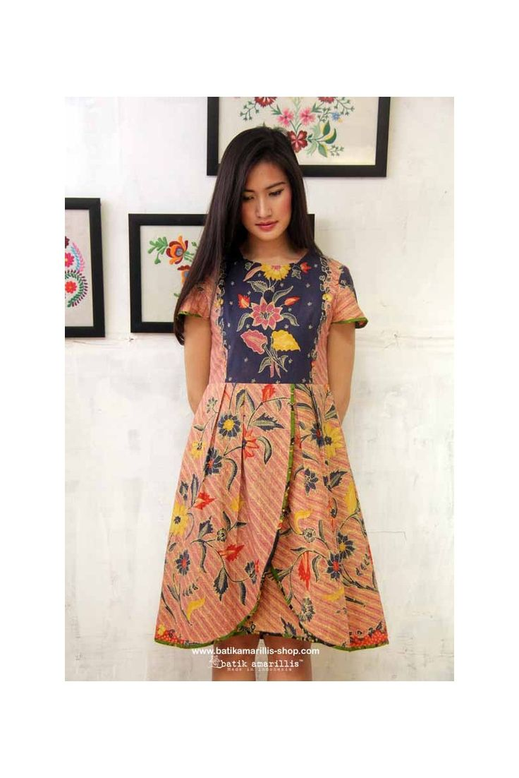 72 best Batik images on Pinterest  Batik fashion Batik dress and