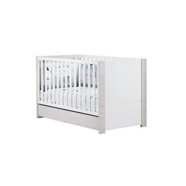 Grâce à son kit de transformation inclus, ce Little Big Bed passe d'un lit bébé 140x70 à un lit pour jeune enfant de 3 à 7 ans. Une solution pour une transition en douceur. #Litbébé #litévolutif #litsauthon #litopale #opale #opalesansmotif #littransformable