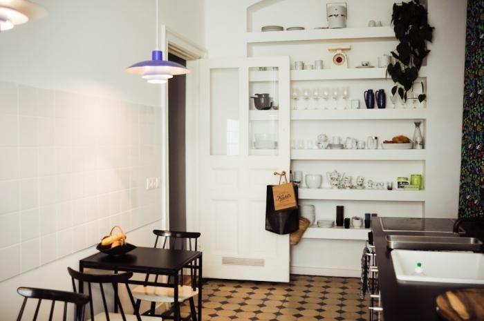 Possible inbuilt shelf for kitchen.