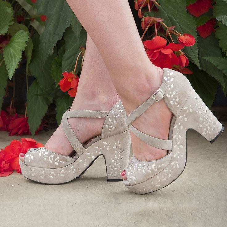 Put your best foot forward with Miss L Fire! These chic party shoes are just the thing to carry you into the new year!