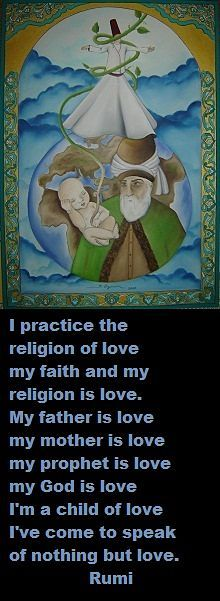 ~ Rumi ~ Nothing but love
