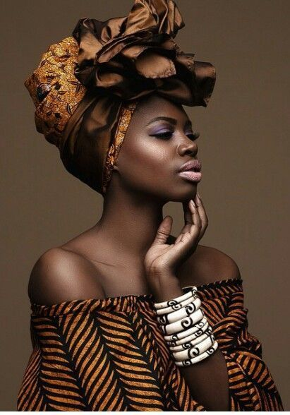 Beautiful Fanmdjanm wrap ~African fashion, Ankara, kitenge, Kente, African…
