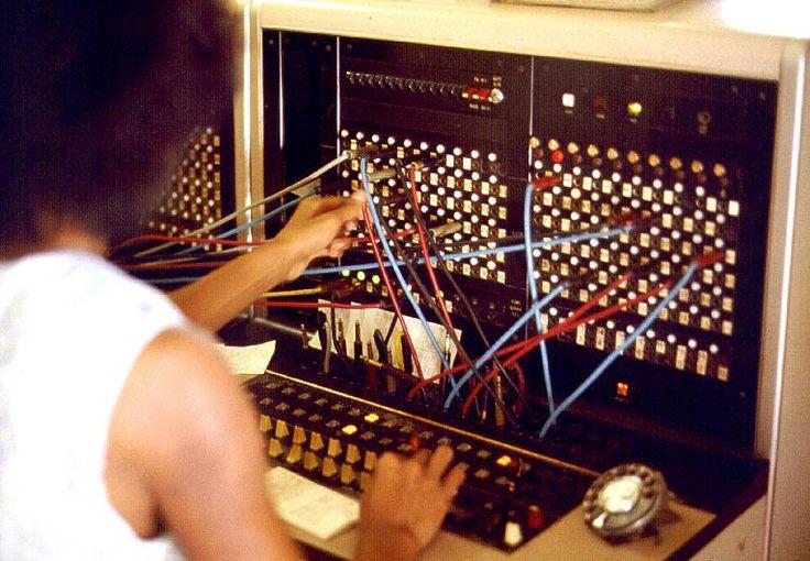 PBX switchboard, 1975.  image: Joseph A. Carr - http://www.JoeTourist.net/