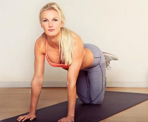 6 simple exercises to get you in shape now.