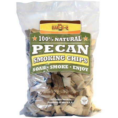 Mr. Bar-B-Q Pecan Wood Chips, Brown