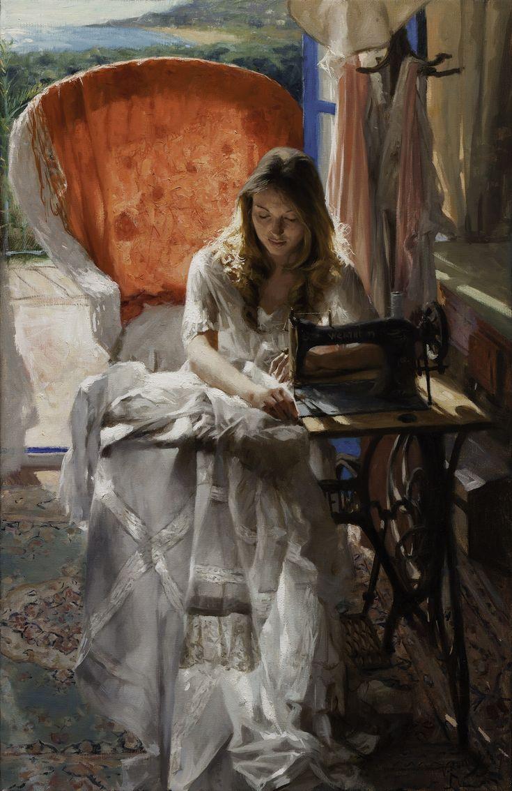 Vicente Romero Redondo - 92x60 cm oil