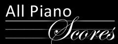 Free Piano Scores... great resource for classical music!