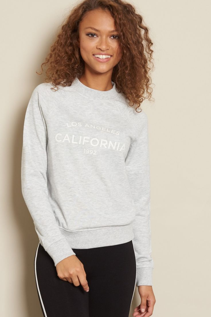 Effortlessly awesome! - Classic Graphic Crewneck Sweater