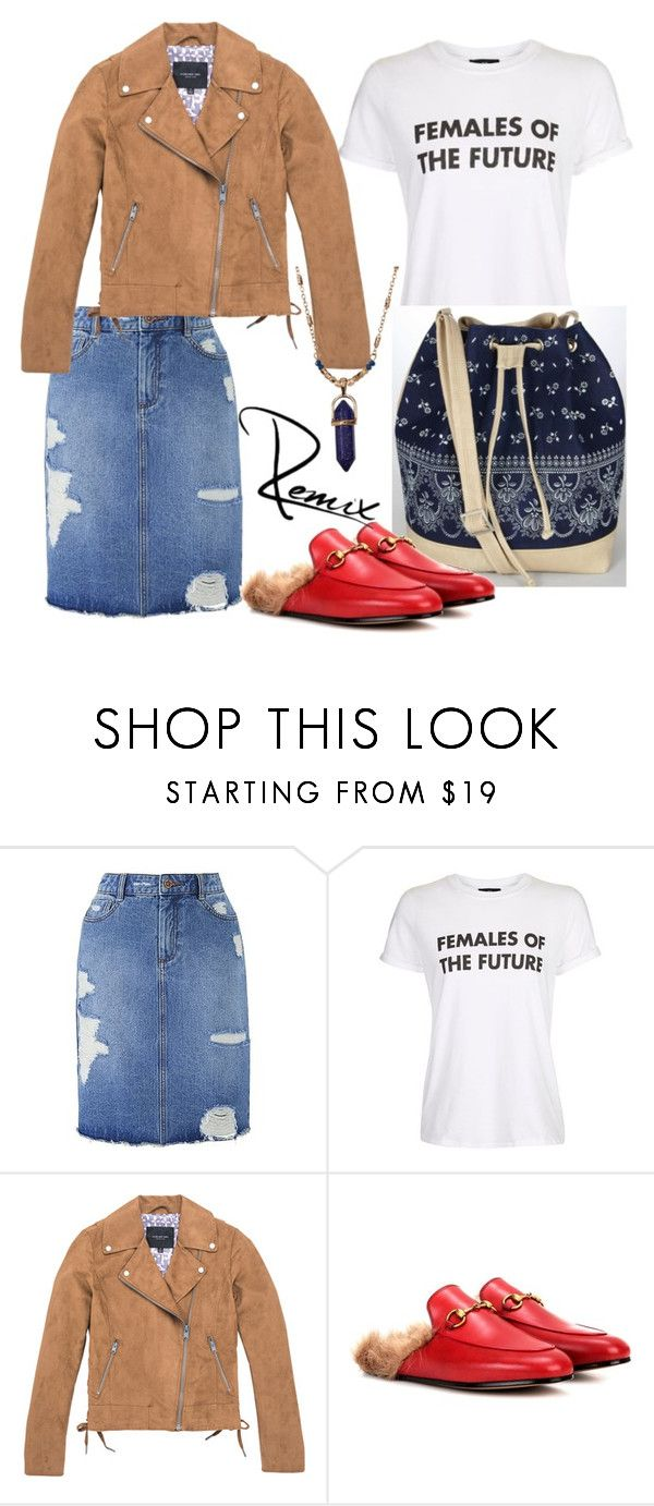 """Spring fling"" by aleva on Polyvore featuring Topshop, Marc New York, Gucci and Stephan & Co."