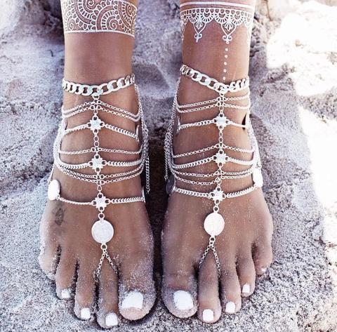 Gypsy Warrior Coin anklet #anklet #gypsy #gypsycoin #hippy #summer #beach #boho #bohostyle #bohemian