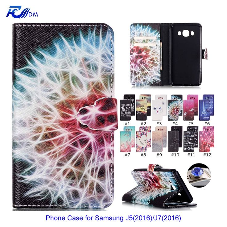 Silicone Leather Cover Case for Samsung Galaxy J5 2016 J510F Coque Stand Wallet Flip Cover for Samsung Galaxy Galaxy J510 J510F