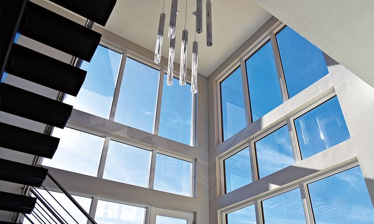 Make a bold statement with our Pinnacle direct set and low profile direct set windows.
