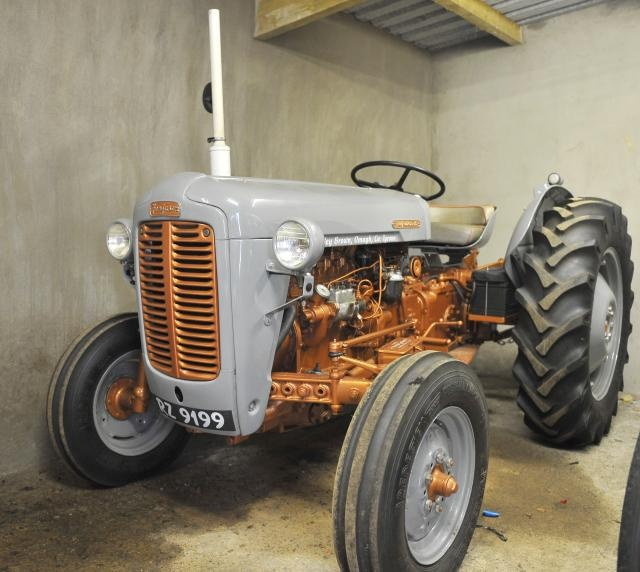 I957 Gold Belly Massey Ferguson