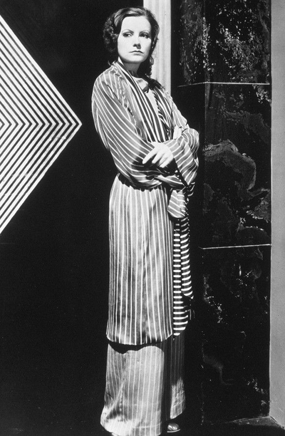 #TBT: 8 Greta Garbo Looks We're Still Talking About via @WhoWhatWear