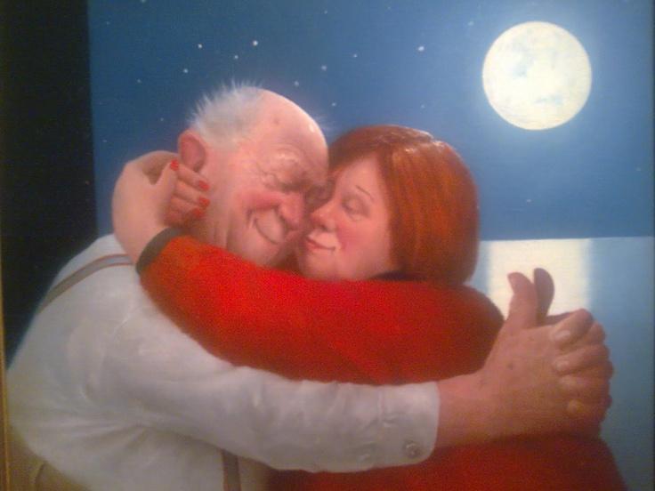 Hug - by Dutch artist Marius van Dokkum