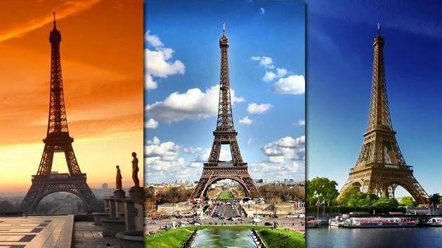 Paříž – Eiffelova věž