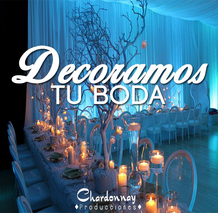 Decoramos tu Boda hermosamente #chardonnayproducciones #weddingchile #Chile #boda
