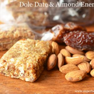 Dole Date Almond Energy Bars- Sports Nutrition http://www.superhealthykids.com/dole-date-almond-energy-bars-sports-nutrition/
