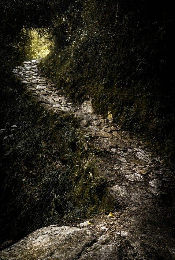 Rocky path. Inka Trail, Peru. Shot and edit by Monica Mikhael.