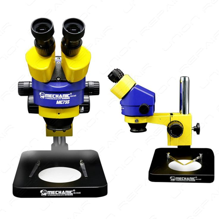 MECHANIC MC75S-B1 7-45X Binocular Stereo Microscope