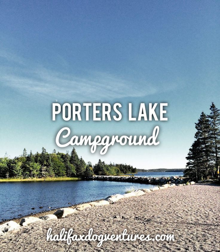 Porters Lake Provincial Park in Porters Lake, Nova Scotia is a very dog-friendly, peaceful getaway just 30 minutes from the City. halifaxdogventures.com