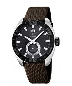 FESTINA Brown Fabric Strap (F16674/2)
