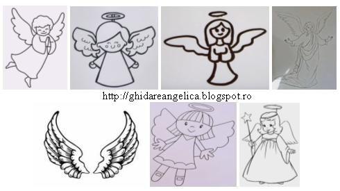 Desene ingeri, cum sa desenezi ingeri ingerasi #ingeri #ingerasi
