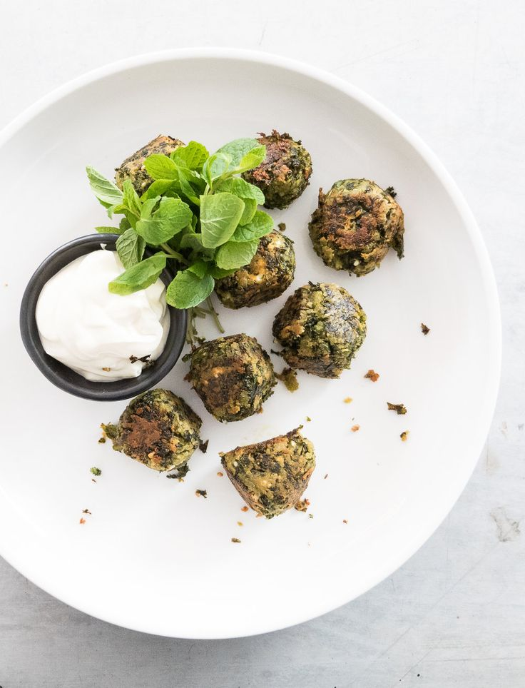 These vegetarian meat(less) balls are absolutely bursting with flavour and  are surprisingly moreish - you'll be coming back for sections! Pair them  with a dipping sauce for finger food, or warm pita bread, a Middle-Eastern  dip and tabbouleh for a substantial vegetarian main. Kale is coming to the  end of it's season, so now's the time to cook this recipe or you'll be  waiting until next year's cooler weather.  This recipe first appeared in Issue 4 of TMix+ Magazine, devoted to all…