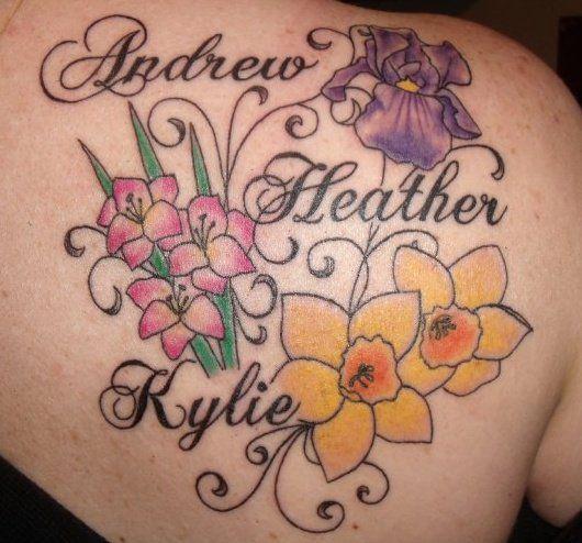 25+ Best Ideas About Birth Flower Tattoos On Pinterest