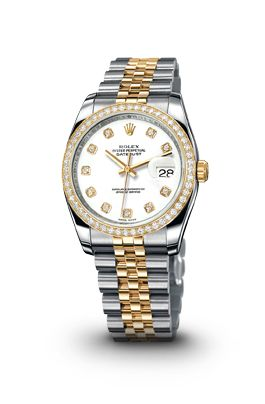 ROLEX Women's Watches Datejust in Steel & Yellow Gold Sighh!! Need to start saving up!