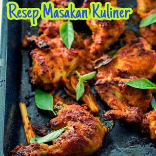 Resep Masakan Kuliner: Resep Ayam Bakar Bumbu Rujak Enak
