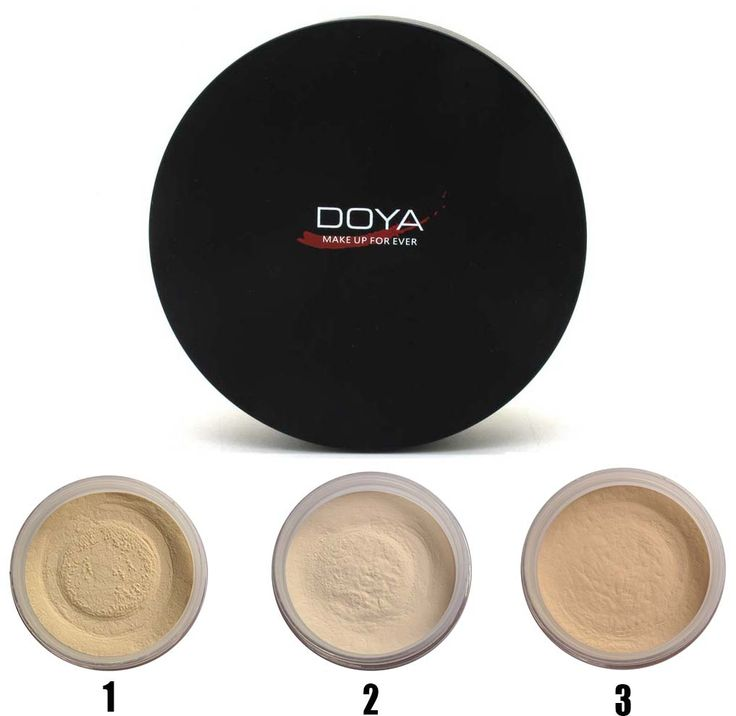 DUOYA Net Muscle Definition Translucent Loose Powder Brighten Foundation Brighten Natural Matte Finish Makeup Loose face powder