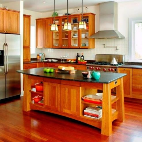 597 Best Images About Arts Crafts Kitchens On Pinterest Craftsman Wood Cabinets And Cabinet Design